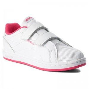 Reebok Chaussures Royal Comp Cln 2V CN4831 White/Twisted Pink
