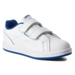 Black Friday 2020 | Reebok Chaussures Royal Comp Cln 2V CN4833 White/Collegiate Royal