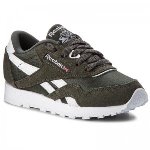 Reebok Chaussures Cl Nylon CN5025 Dark Cypress/White