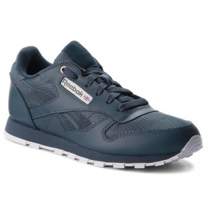 Black Friday 2020 | Reebok Chaussures Classic Leather CN5160 Deep Sea/Mt Fuji/White