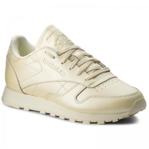 Reebok Chaussures Cl Lthr CN5469 Washed Yellow