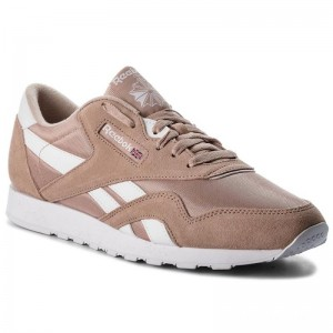 Black Friday 2020 | Reebok Chaussures Classic Nylon M CN3262 Bare Beige/White