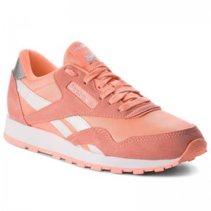 Reebok Chaussures Cl Nylon CN5112 Digital Pink/White/Silver