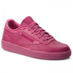Reebok Chaussures Club C 85 CN3733 Twisted Berry/White