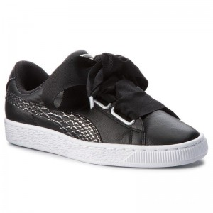 Puma Sneakers Basket Heart Oceanaire 366443 01 Black/Puma White