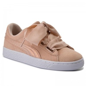 Black Friday 2020 | Puma Sneakers Suede Heart LunaLux Wn's 366114 02 Cream Tan