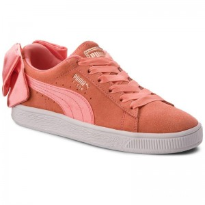 Black Friday 2020 | Puma Sneakers Suede Bow Jr 367316 01 Shell Pink/Shell Pink