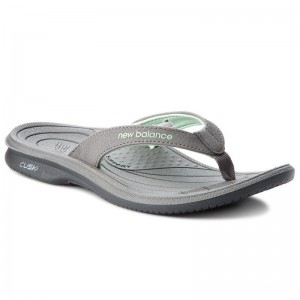 New Balance Tongs W6091GR Gris