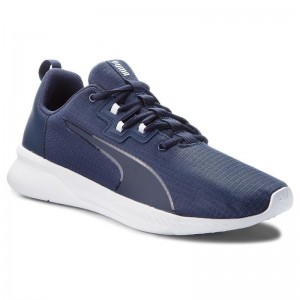 Black Friday 2020 | Puma Chaussures Tishatsu Runner 191070 02 Peacoat/Puma White