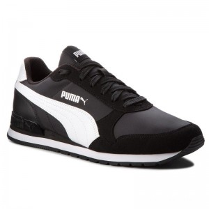 Black Friday 2020 | Puma Sneakers St Runner V2 Nl 365278 01 Black/Puma White