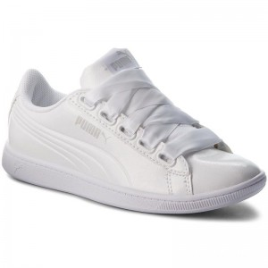 Black Friday 2020 | Puma Sneakers Vikky Ribbon P 366417 02 White/Puma White