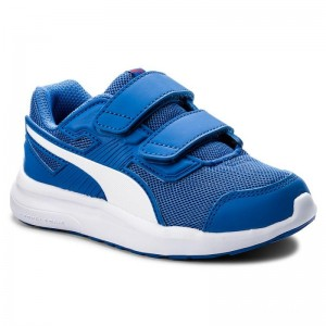 Puma Sneakers Escaper Mesh V Ps 190326 07 Blue/White/Ribbon Red