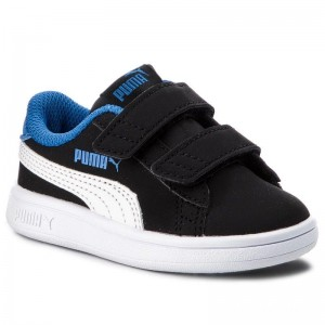 Puma Sneakers Smash V2 Buck V 365184 04 Bl/Puma Wh/Strong Bl