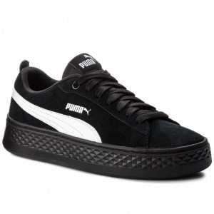 Puma Sneakers Smash Platform Sd 366488 02 Black/Puma White