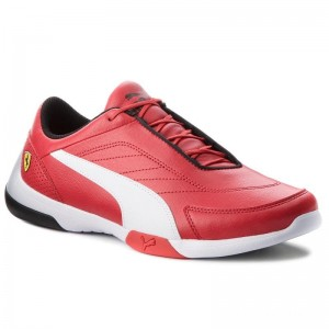 Black Friday 2020 | Puma Sneakers Sf Kart Cat III 306219 01 Rosso Corsa/Puma White