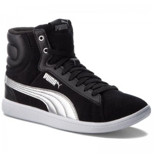 Black Friday 2020 | Puma Sneakers Vikky Mid Cord 366813 01 Black/Puma Silver