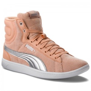 Black Friday 2020 | Puma Sneakers Vikky Mid Cord 366813 02 Dusty Coral/Puma Silver