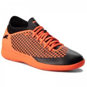 Black Friday 2020 | Puma Chaussures Future 2.4 It 104842 02 Black/Orange