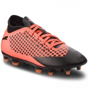 Puma Chaussures Future 2.4 Fg/Ag Jr 104844 02 Black/Orange