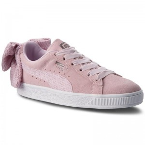 Black Friday 2020 | Puma Sneakers Suede Bow Uprising Wn's 367455 03 Winsome Orchid/Puma White