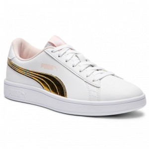Black Friday 2020 | Puma Sneakers Smash v2 Mermaid Jr 365206 01 White/Pearl