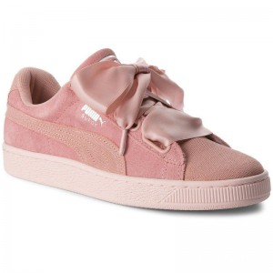Puma Sneakers Suede Heart Pebble Wn's 365210 01 Peach Beige/Pearl
