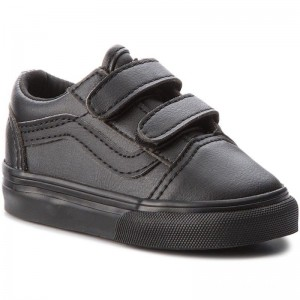 Black Friday 2020 | Vans Chaussures basses Old Skool V VN0A344KPXP1 (Classic Tumble) Blk Mono
