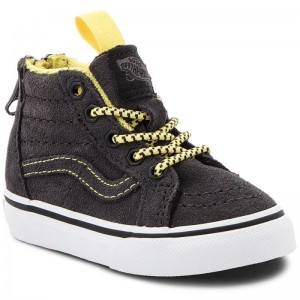 Black Friday 2020 | Vans Sneakers Sk8-Hi Zip VN0A32R3U4H1 (Mte) Yellow/Grey