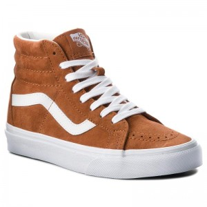 Black Friday 2020 | Vans Sneakers Sk8-Hi Reissue VN0A2XSBU5K (Pig Suede) Leather Brown