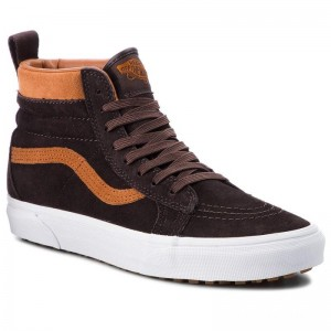 Black Friday 2020 | Vans Sneakers Sk8-Hi Mte VN0A33TXUCA (Mte) Suede/Chocolate Tor