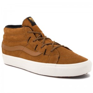 Black Friday 2020 | Vans Sneakers Sk8-Mid Reissue G VN0A3TKQUCS (Mte) Sudan Brown/Marshma
