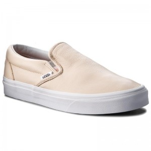 Black Friday 2020 | Vans Tennis Classic Slip-On VN0A38F7U7I (Lurex Gore) Sand Dollar