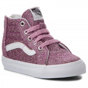 Black Friday 2020 | Vans Sneakers Sk8-Hi Zip VN0A32R3U3U (Lurex Glitter) Pink/True