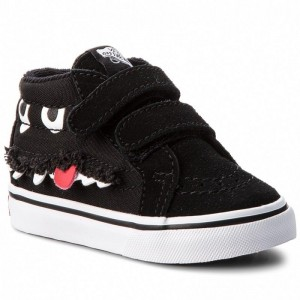 Vans Sneakers Sk8-Mid Reissue V VN0A348JU4Q (Monster Face) Black/True White
