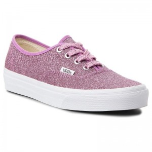 Vans Tennis Authentic VN0A38EMU3U (Lurex Glitter) Pink/True