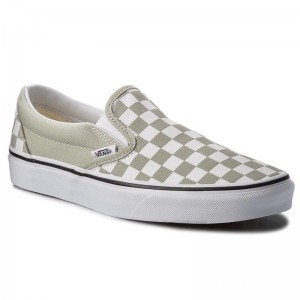 Black Friday 2020 | Vans Tennis Classic Slip-On VN0A38F7U79 (Checkboard) Desert Sag