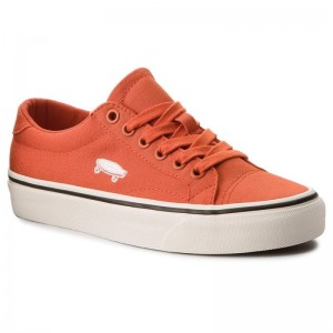 Vans Tennis Court Icon VN0A3JF2U861 (Canvas) Pureed Pumpkin/C