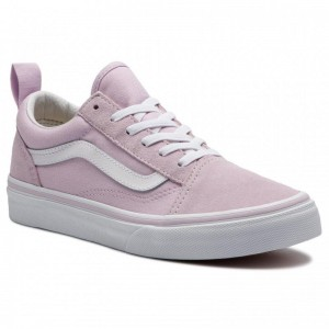 Black Friday 2020 | Vans Tennis Old Skool Elastic VN0A3QPGUJM1 Lavender Fog/True White