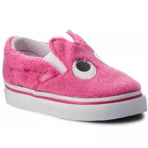 Black Friday 2020 | Vans Chaussures basses Slip-On Friend VN0A3TK4U4U (Party Fur) Magenta/True
