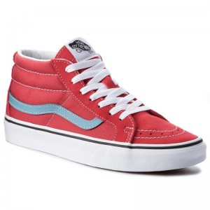 Black Friday 2020 | Vans Sneakers Sk8-Mid Reissure VN0A3MV8Q8C Rococco Red/Adriatic Blue