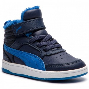 Black Friday 2020 | Puma Sneakers Rebound Street V2 Fur V Inf 363921 05 Peacoat/Strng Blue/Whte