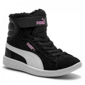 Black Friday 2020 | Puma Boots Vikky Mid Fur V PS 366854 01 Black/Puma White