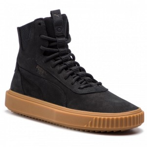 Black Friday 2020 | Puma Sneakers Breaker Hi Gum 367715 01 Black/Puma Black