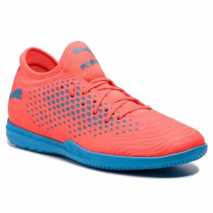 Puma Chaussures Future 19.4 It 105549 01 Red Blas/Bleu Azur