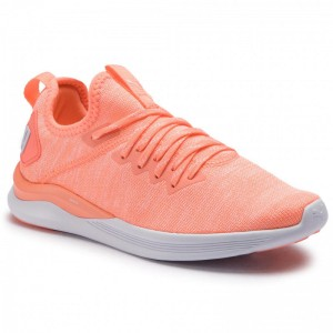 Puma Chaussures Ignite Flash EvoKnit Wn's 190511 15 Bright Peach/Puma White