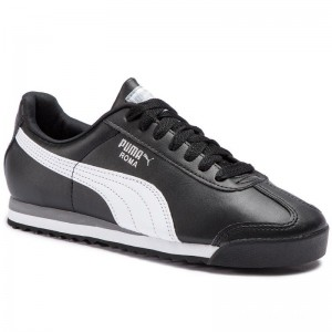 Black Friday 2020 | Puma Sneakers Roma Basic 353572 11 Black/White/Puma Silver