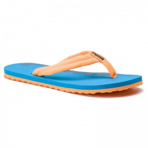Puma Tongs Epic Flip v2 Jr 360288 16 Orange Pop/Indigo Bunting