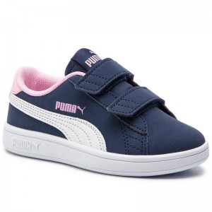 Puma Sneakers Smash V2 Buck V Ps 365183 09 Peacoat/Puma White/Pale Pink