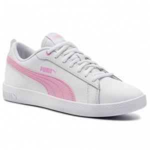 Black Friday 2020 | Puma Sneakers Smash Wns V2 L 365208 10 White/PalePink/Grey Violet