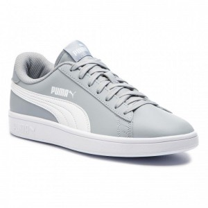 Puma Sneakers Smash V2 L 365215 10 Quarry/Puma White
